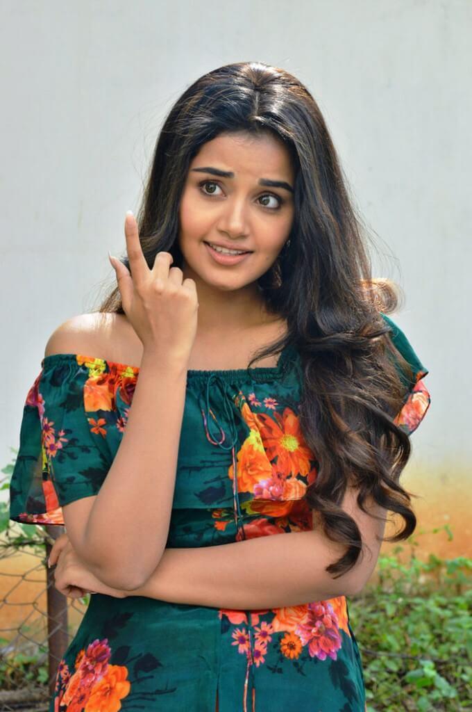 Cute Photos Of Anupama Parameswaran In Floral Dress