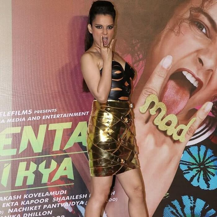 Kangana Ranaut Stills At Judgementall Hai Kya Movie Promotions