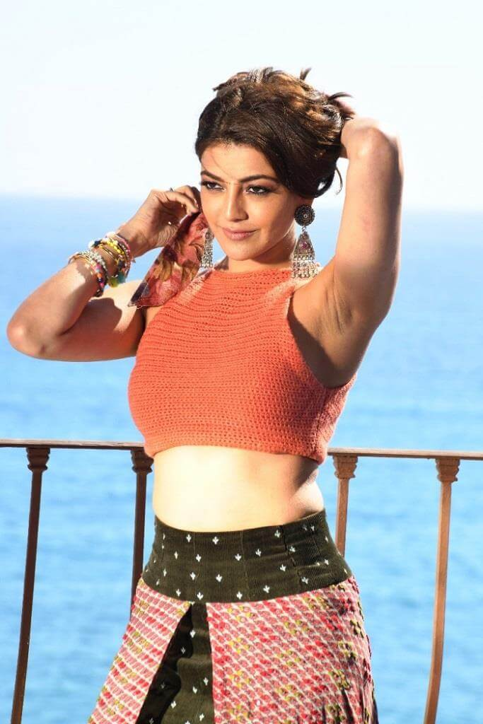 Kajal Agarwal HD Stills From Ranarangam Movie