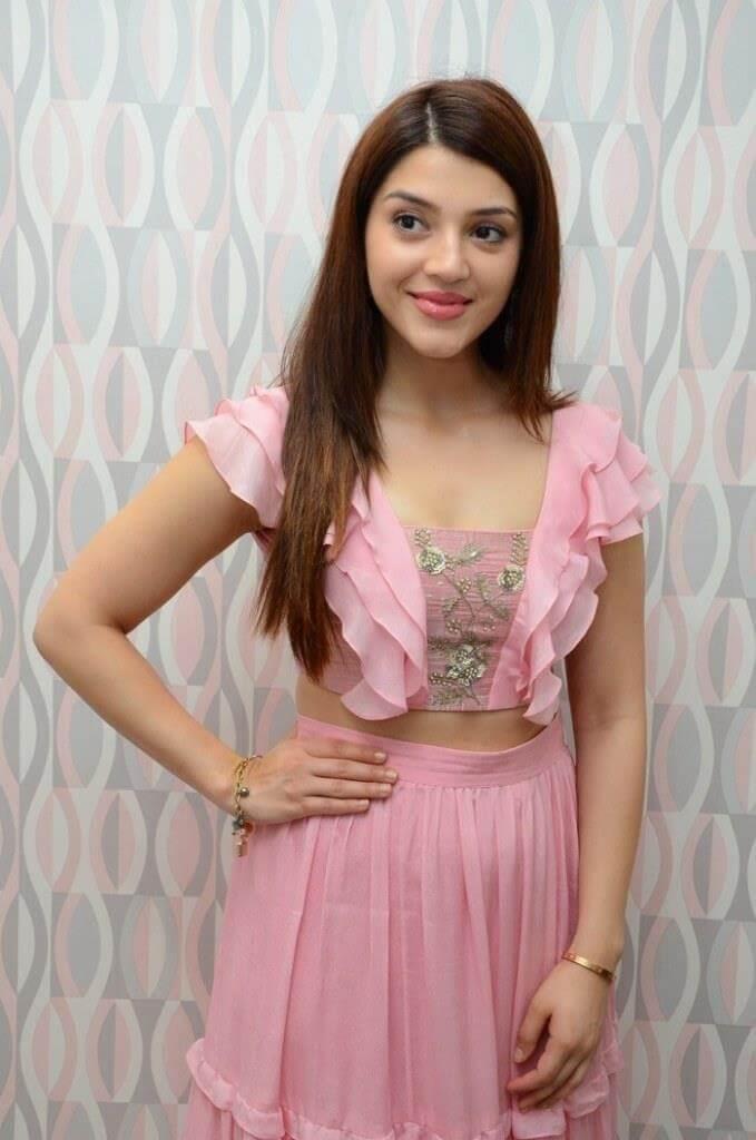 Mehreen Kaur Latest Photos In Gorgeous Pink Dress