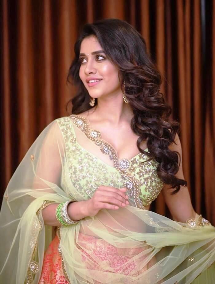 Nabha Natesh Navel Show