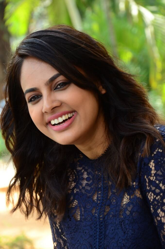 Newest Images Of Nandita Swetha In The Violet Skirt