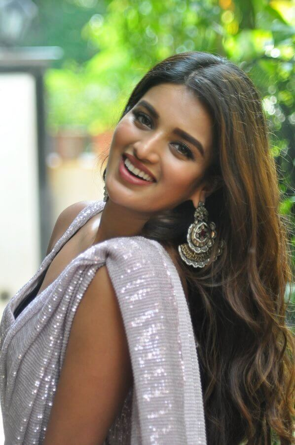 Nidhhi Agerwal Images In Saree