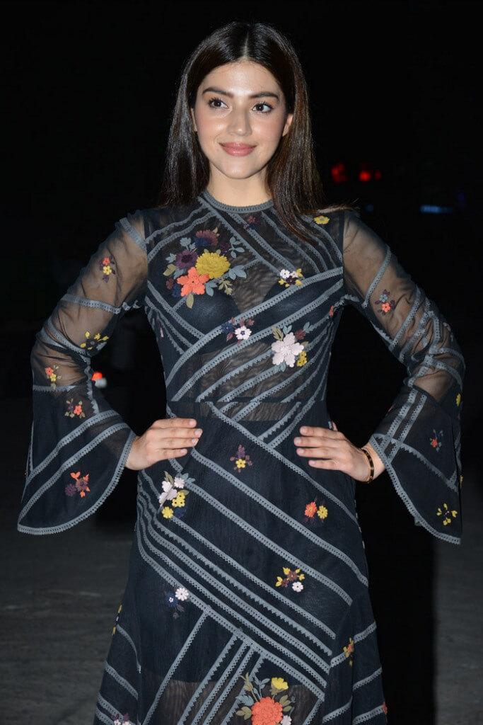 Photos of Mehreen Kaur in Transparent Black Dress