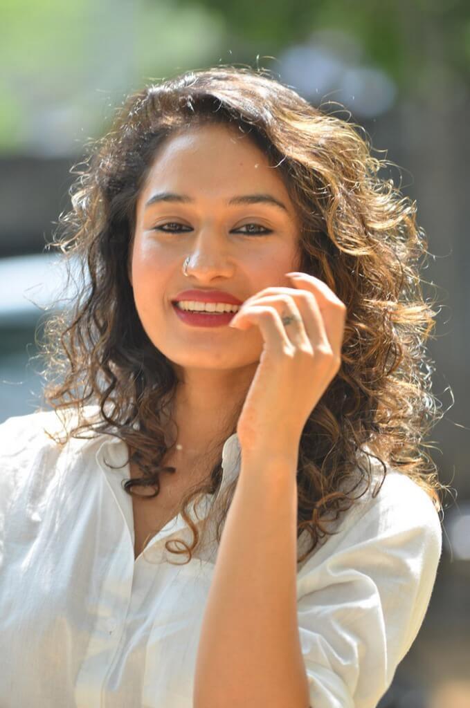 Pooja Ramachandran Smiling Photos
