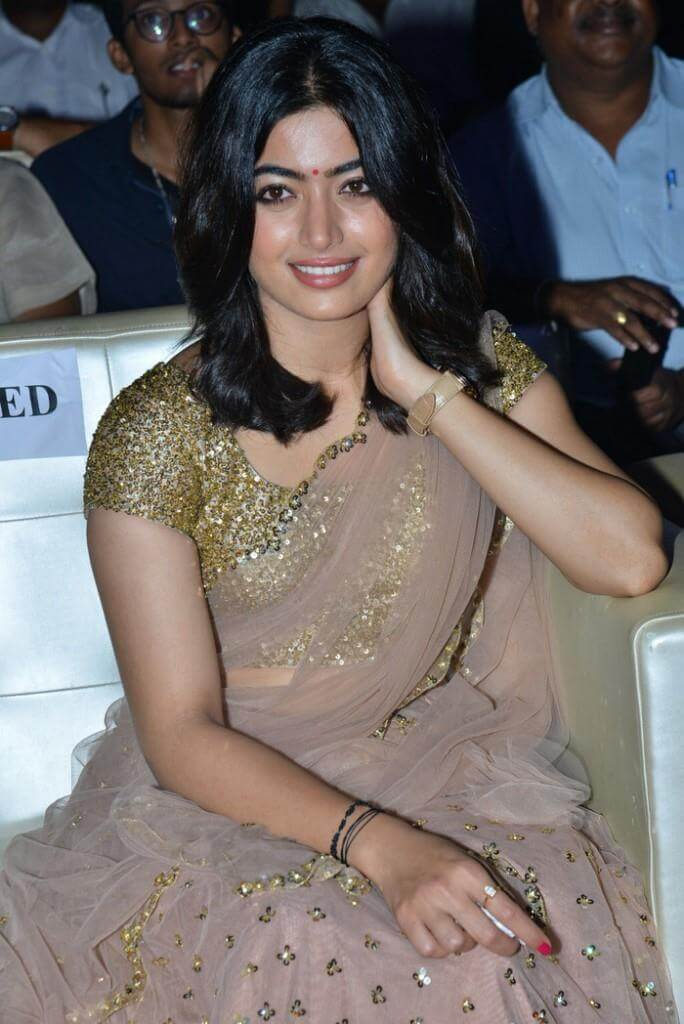 Rashmika Mandanna Half Saree Photos