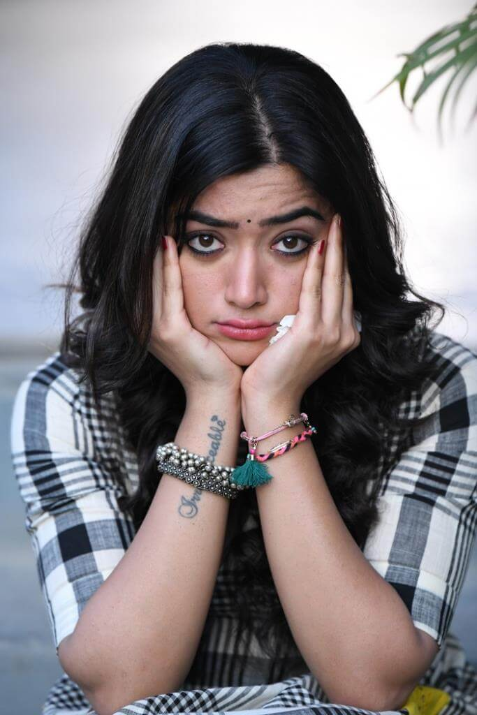 Rashmika Mandanna Latest Movie Working Stills