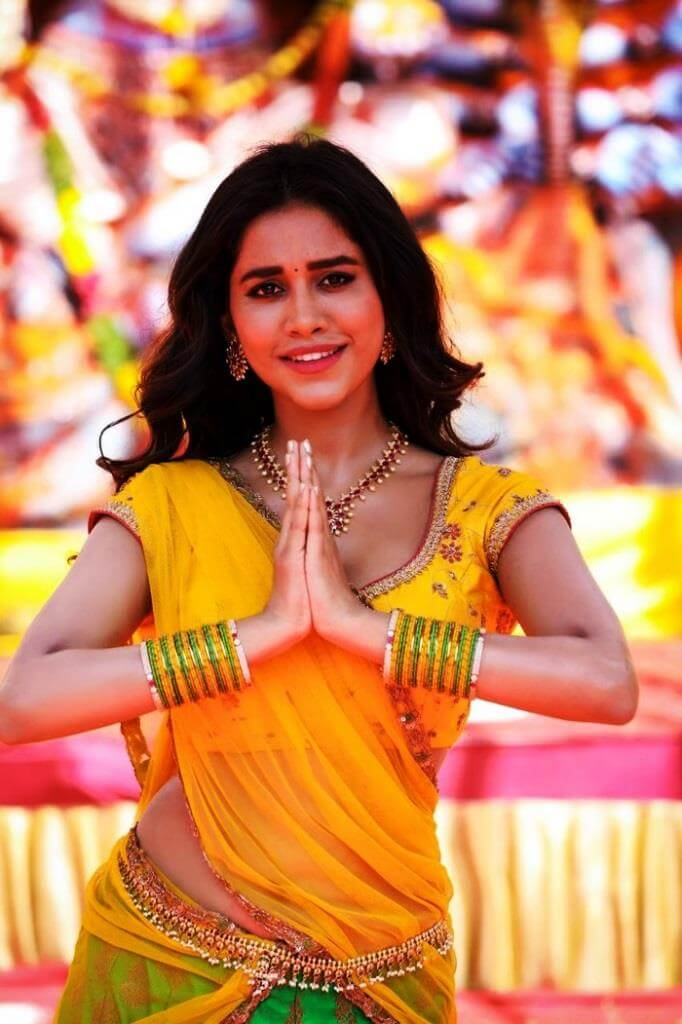 Spicy Stills Of Nabha Natesh From 'Ismart Shankar' Movie