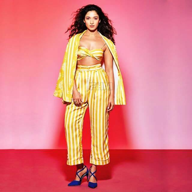 Tamanna Bhatia Hot Poses For FHM Magazine