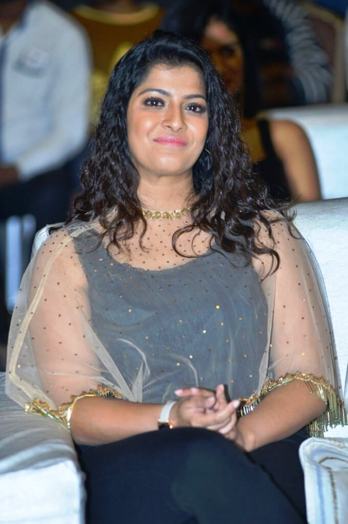 Tamil Beauty Varalaxmi Saratkumar Spotted In Black Dress