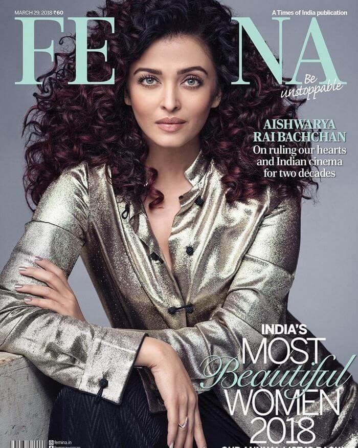 Aishwarya Rai Femina Magazine Stills