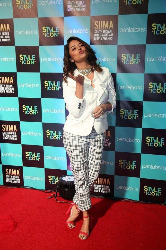 Anasuya Bharadwaj At SIIMA Awards Event