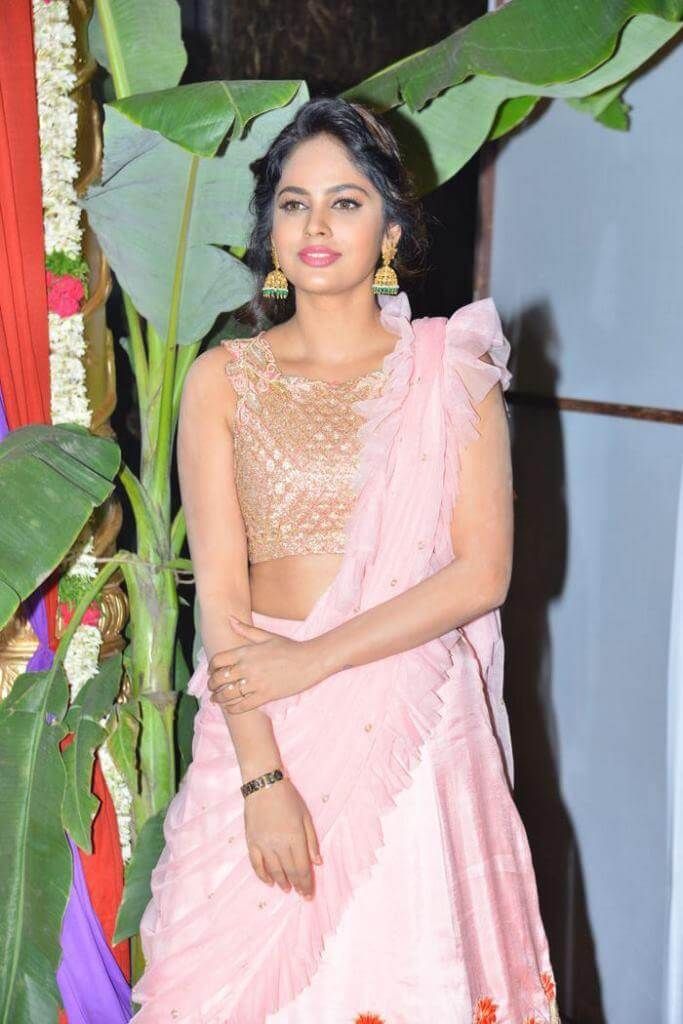 Nandita Swetha At 'Srinivasa Kalyanam' Movie Pre-Release Function