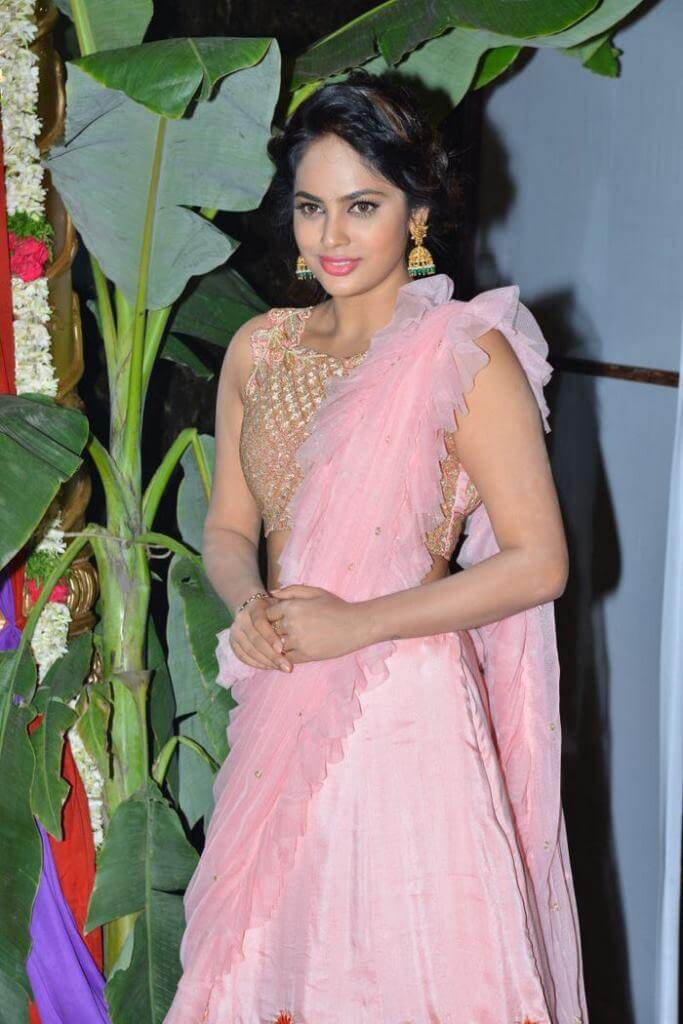 Nandita Swetha At 'Srinivasa Kalyanam' Pre-Release Function