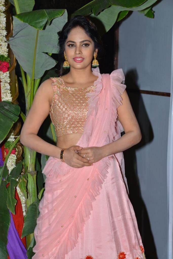 Nandita Swetha Pics At 'Srinivasa Kalyanam' Pre-Release