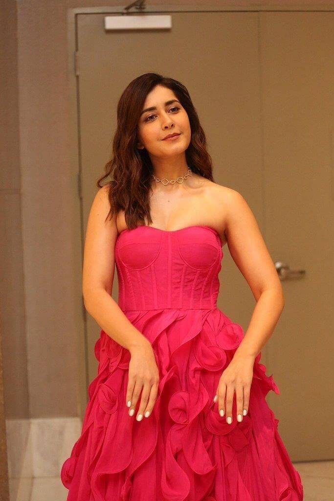 Rashi Khanna Pink Dress