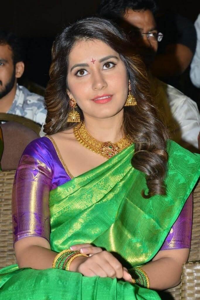 Rashi Khanna At Audio Launch