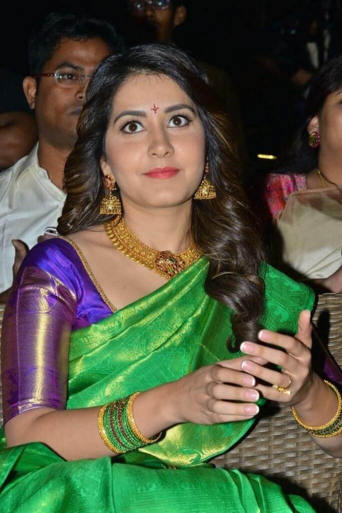 Rashi Khanna At Srinivasa Kalyanam Audio Launch