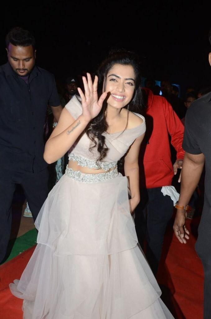 Rashmika Mandanna Navel