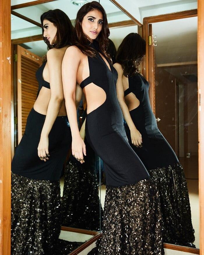 Vaani Kapoor In Black Dress