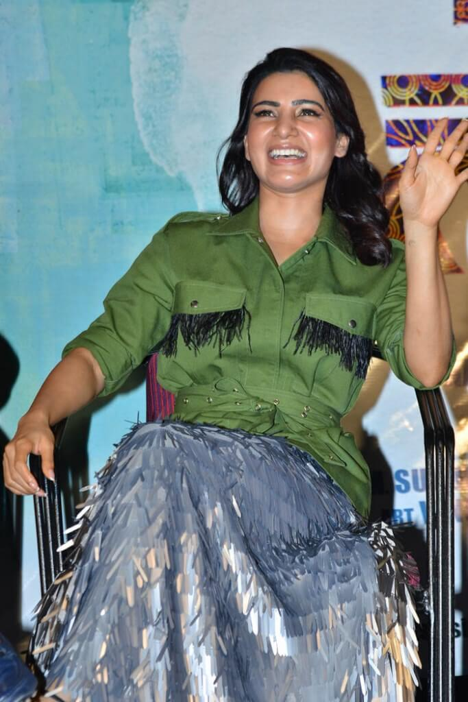 Samantha At Chi La Sow Movie Pre-Release Event