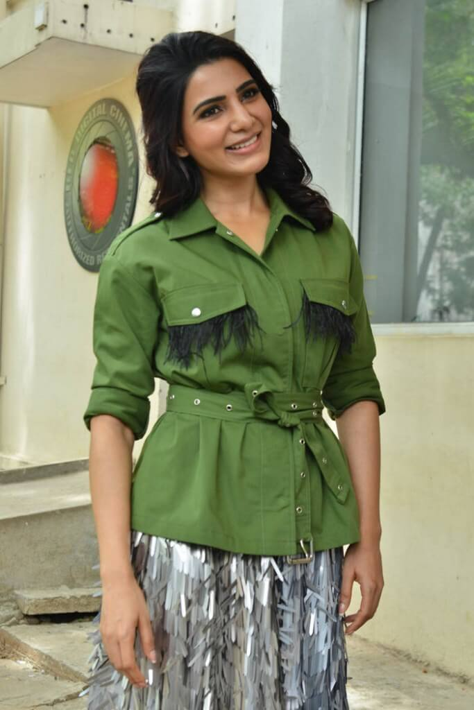 Samantha At Pre-Release Event