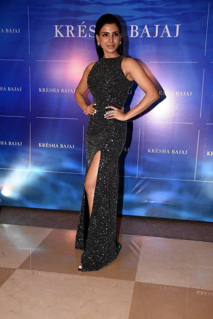 Samantha at Kresha Bajaj