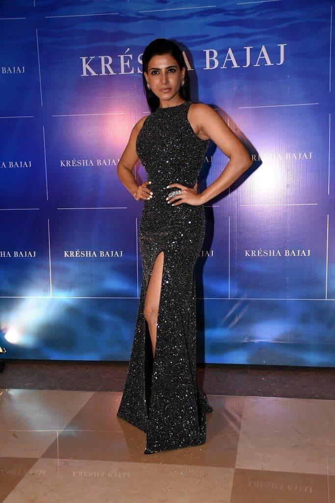 Samantha at Kresha Bajaj Anniversary Celebrations