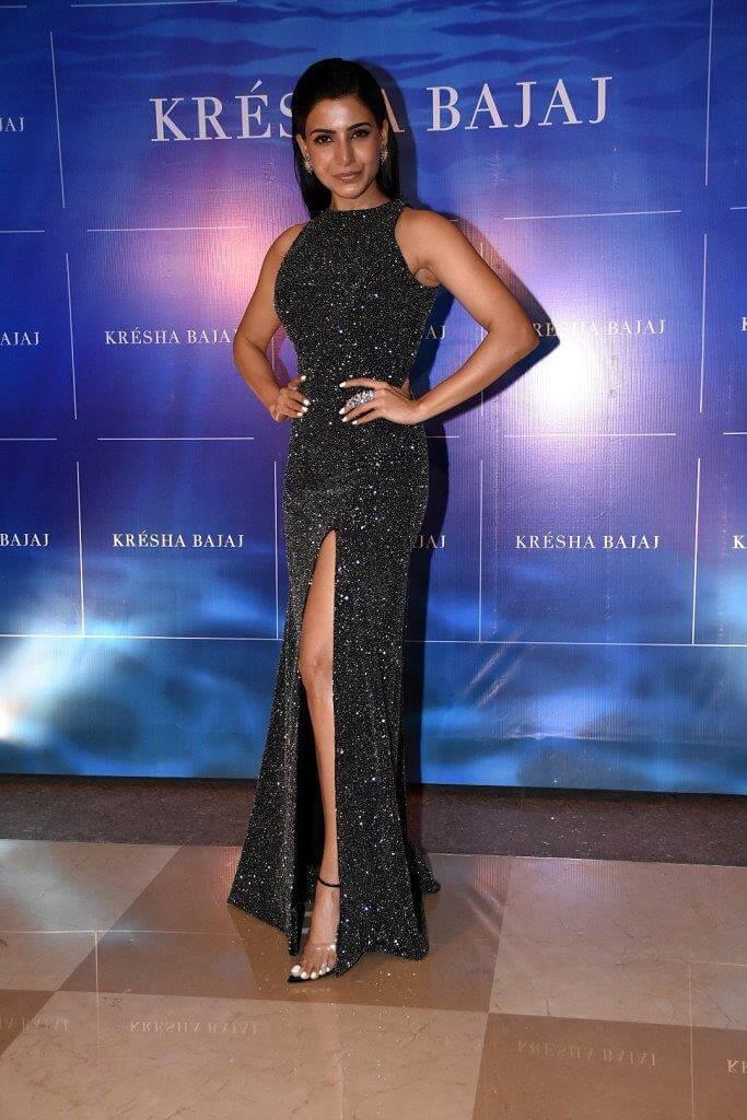 Samantha at Kresha Bajaj Anniversary