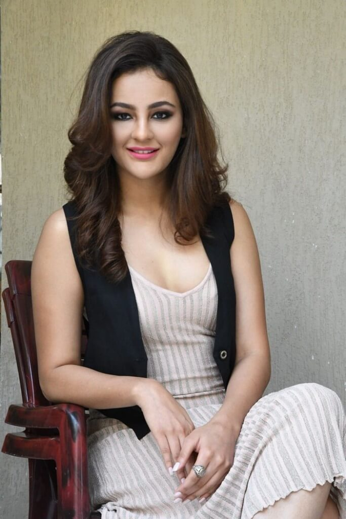 Seerat Kapoor Pics At 'Touch Chesi Chudu' Movie Promotions