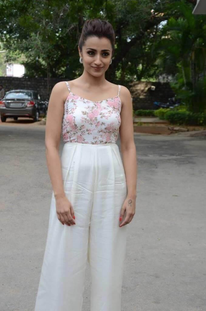 Trisha Krishnan Stills At 'Mohini' Movie Pre-Release Event