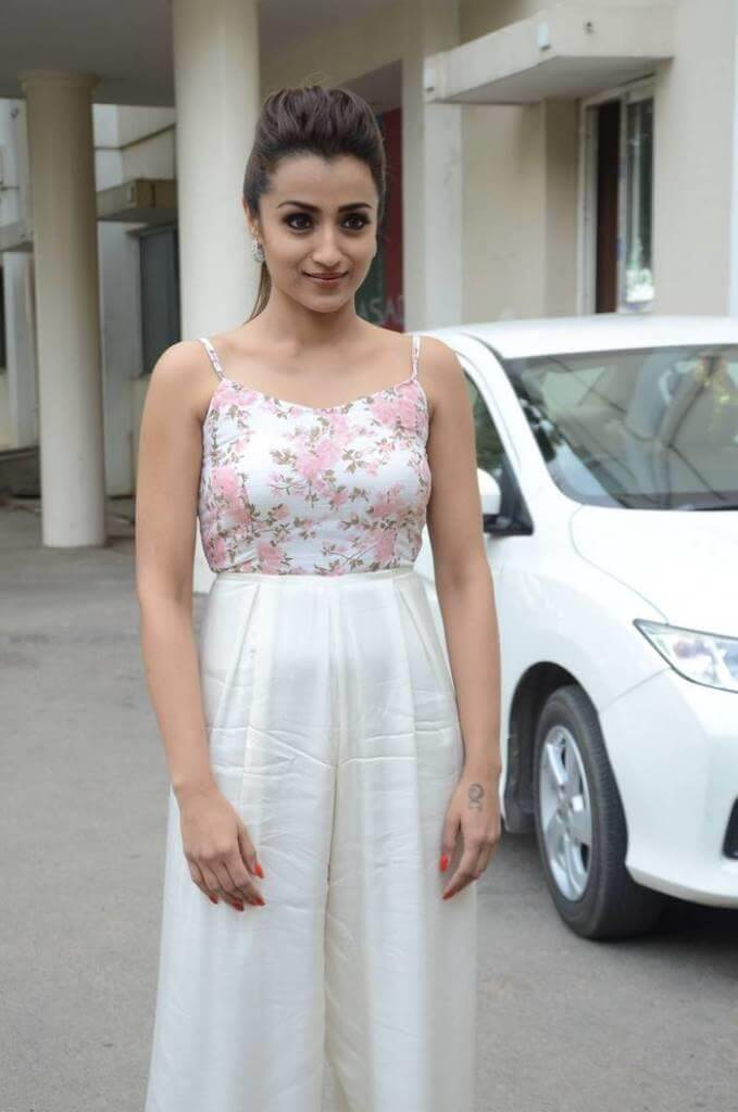 Trisha Krishnan At 'Mohini' Movie Pre-Release Event