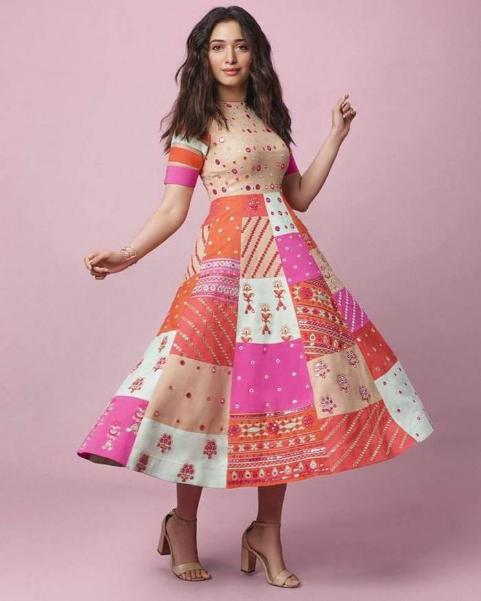 Tamanna Bhatia In Stylish Dress