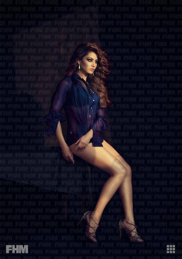 Urvashi Rautela FHM Magazine