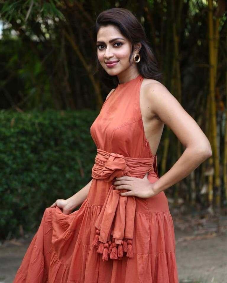 Amala Paul At Press Meet Of 'Adho Andha Paravai Pola' Movie
