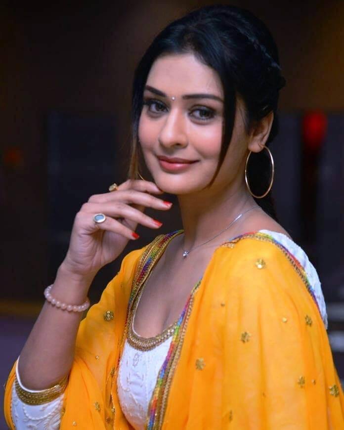 Heroine Payal Rajput At Disco Raja Success Meet