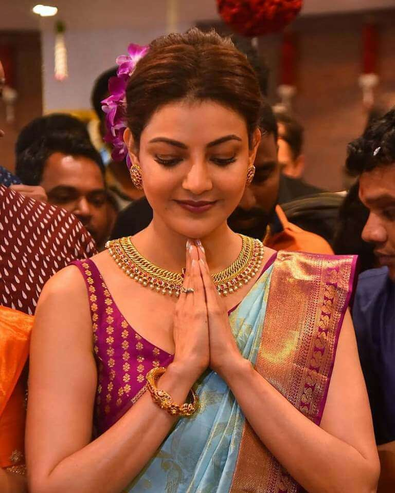Kajal At Mall Launch Event