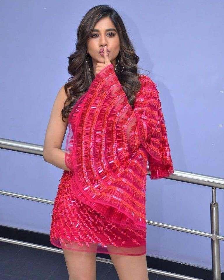 Nabha Natesh At Song Launch Event Of Disco Raja
