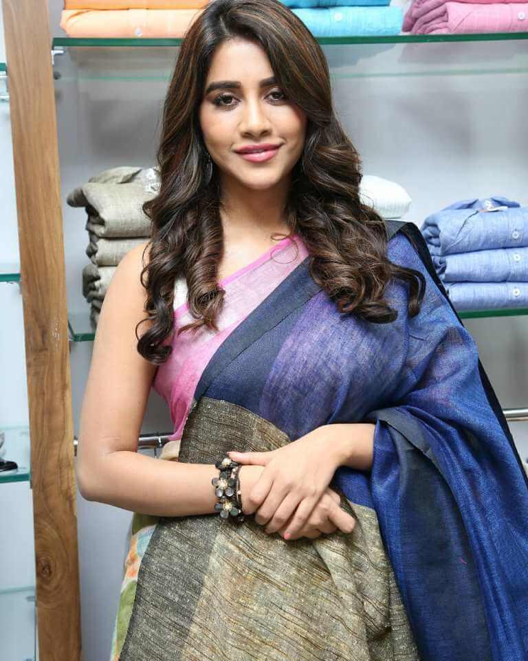 Nabha Images At Store Launch At Nizampet