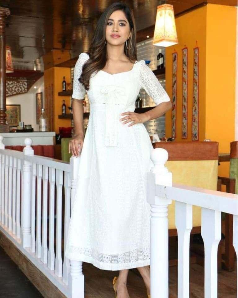 Nabha Natesh At Disco Raja Movie Interview