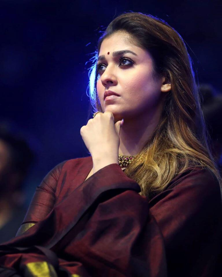 Nayanthara At Zee Awards Tamil Function