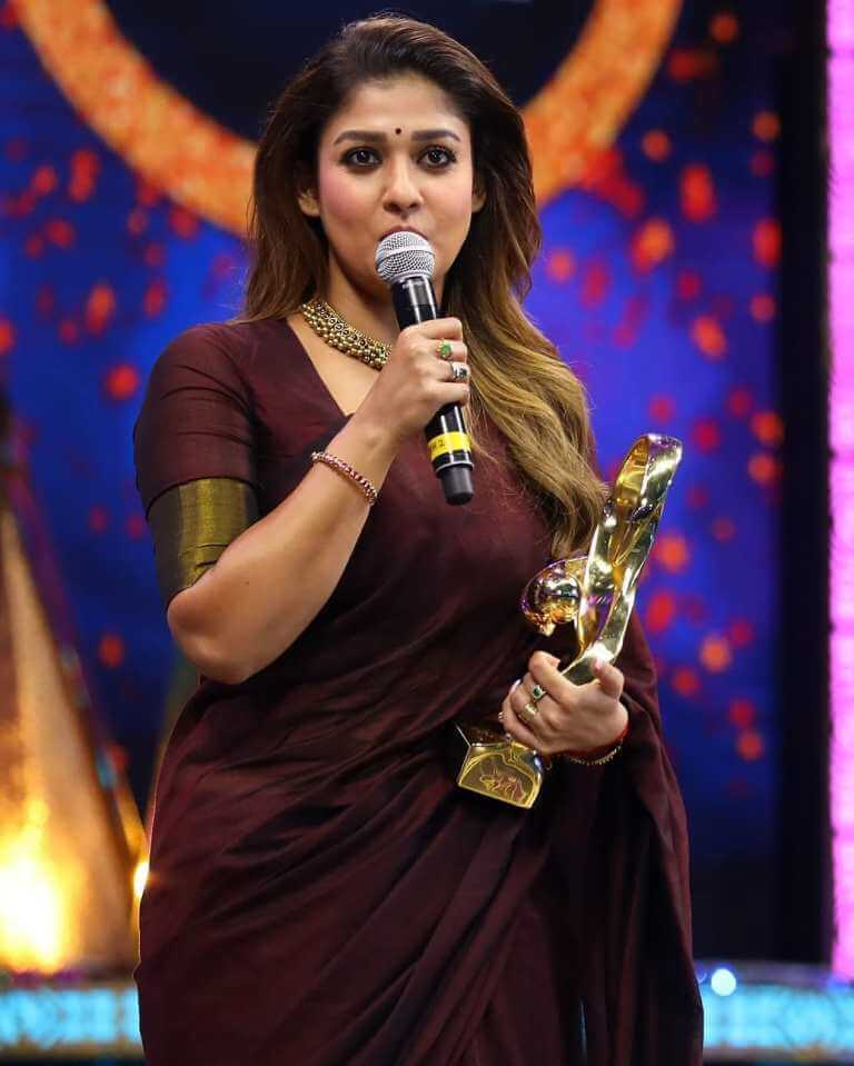 Nayanthara At Zee Awards