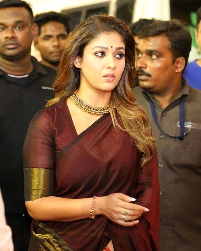 Nayanthara At Awards Function
