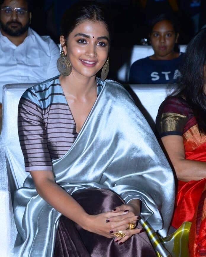 Pooja Hegde At Alavaikunta Purramu loo Movie Success Celebration