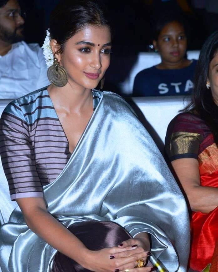 Pooja Hegde In Saree