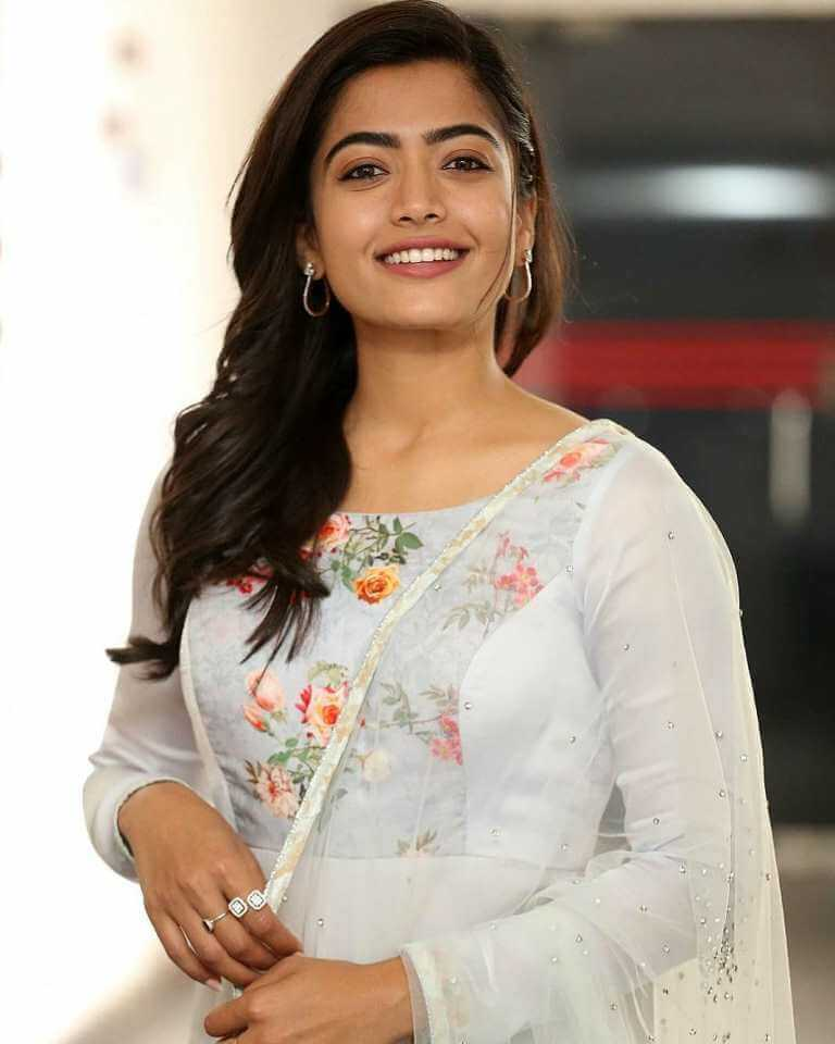Rashmika Mandanna At Movie Promotions