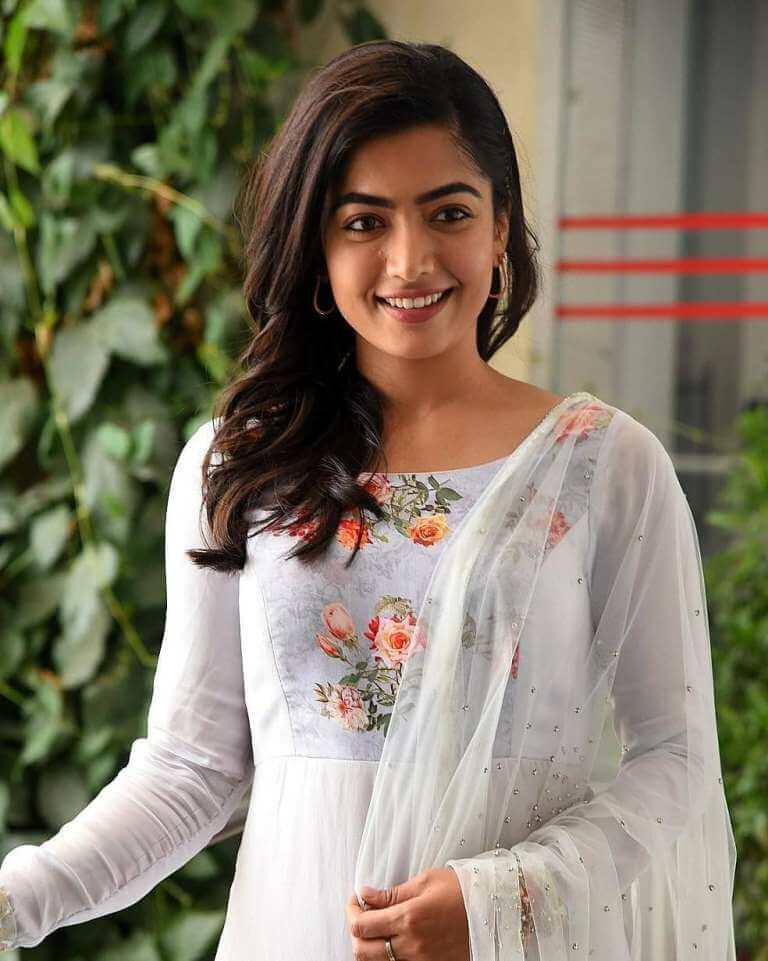 Rashmika At Movie Promotions