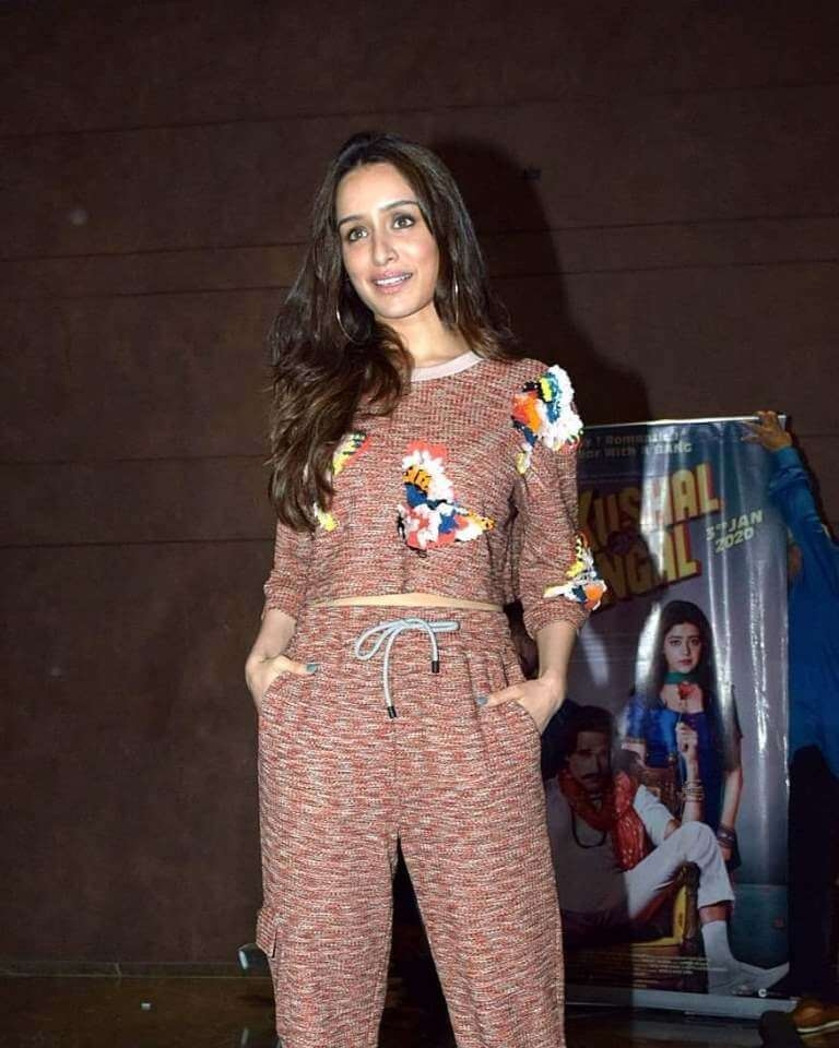 Shraddha Kapoor At Movie Promotions