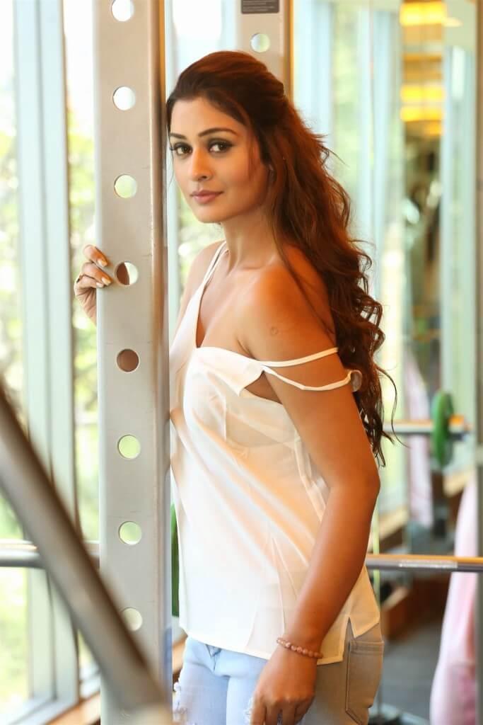 Hot Actress Payal Rajput Gym Workout Stills
