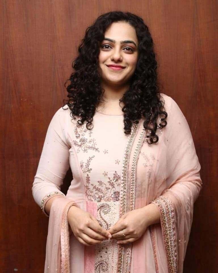 Nithya In Churidar At Psycho Movie Success Meet